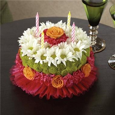 Prime Happiest Birthday Flower Cake Spokane Wa Funny Birthday Cards Online Chimdamsfinfo
